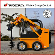 Shandong machine new mini skid steer loader GN400 for sale