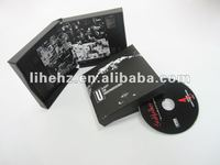 High quality cardboard CD sleeve with CD replication