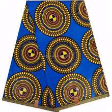 New 100% cotton 2017 custom design ladies african wax print fabrics for hot sale