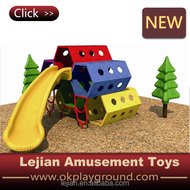 Plastic Climbing Toys with Slide (S1601-7)