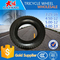 high quality hot sale korea tricycle tire 6.0-12/4.50-12/5.00-12