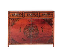 selling chinese antique wood reproduction furniture shandong cabinet for living room