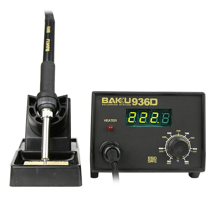 BK-936D The High Quality And Attracting Price BAKU 60W Welding Soldering Station 220V 150W Digital anti - static Taiwan
