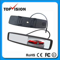 "Hot sale 4.3"" touch screen car rear view mirror monitors"