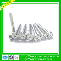 anodized aluminum screw