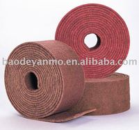 non woven coated abrasive cloth roll