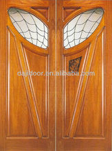 Solid Teak Wood Double Doors For The House DJ-S9590