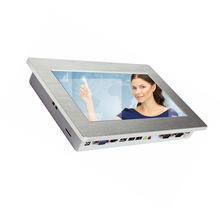 10.1 inch 1024*600 embedded touch screen panel pc with 5 wire resistive touch