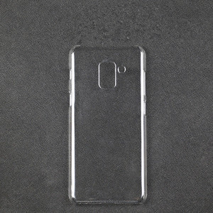for Samsung s5 2018 transparent cover Simple Ultra Slim PC hard case for samsung s8 s9 note 8 clear phone case