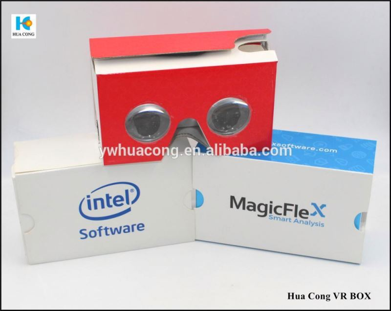 low price custom print paper 3d vr headset glasses