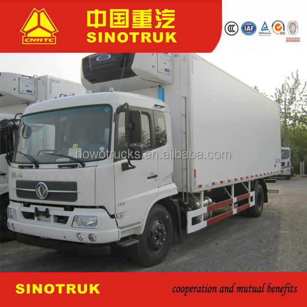 New type cooling van with van air conditioner and truck tire for sale
