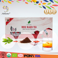Promote Rose Organic Black Tea Extract Powder