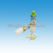 Toy candy,3g Yoghurt bottles with Candy,plastic candy toy