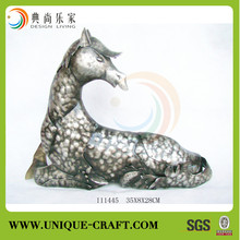 New product antique style decorative horse metal modern home decoration items