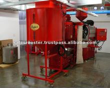 Small Scale Coffee Bean Roasting Line