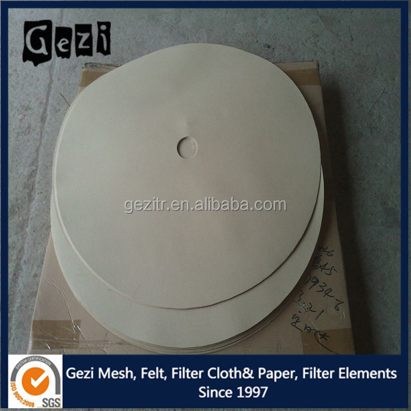 Disc cellulose nitrate 10 micron filter paper