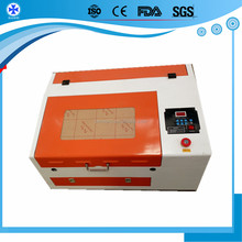 40w 50w 60w 80W 3040 co2 acrylic leather wood glass crystal metal 3D mini laser engraving machine price eastern with CE,FDA