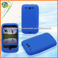 For HTC Wildfire G8 6225 Blue color mobile phone silicone skin case