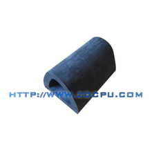 Natural rubber D type boat dock bumpers