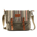 2016 Newest stone wash canvas cross body messenger chest bag for man