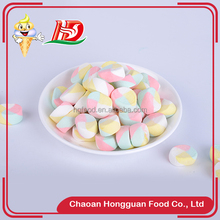 Round delicious custom wholesale sweet multi colored halal marshmallow