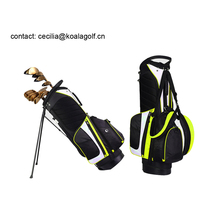 Luxurious High Quality Nylon Golf Stand Bag