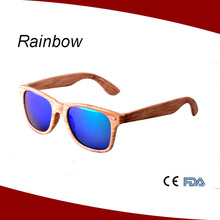 Imitation bamboo grain plastic classical sunglasses