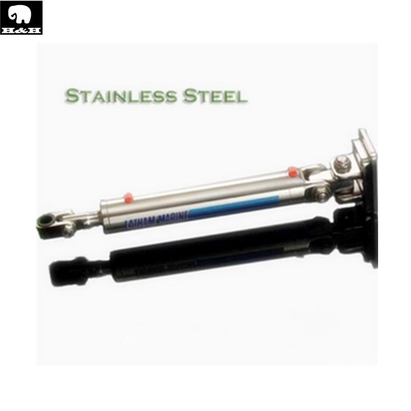 double acting stainless steel hydraulic cylinder for speed boat/ship/vessel