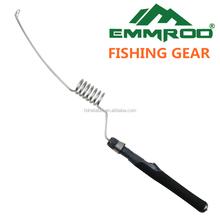 Ice fishing rod. Stainless Portable Fishing Pole Rod Spinning Poles Ocean Boat Fishing Rod Great for a small backpack by Emmrod