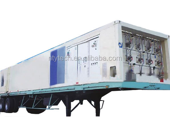 Highly Integrated Tube Container Type CNG Mobile Filling Station