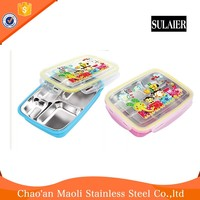 Cheap Wholesale Price Free Sample Hand Held Hard Plastic Lunch Box With Handle