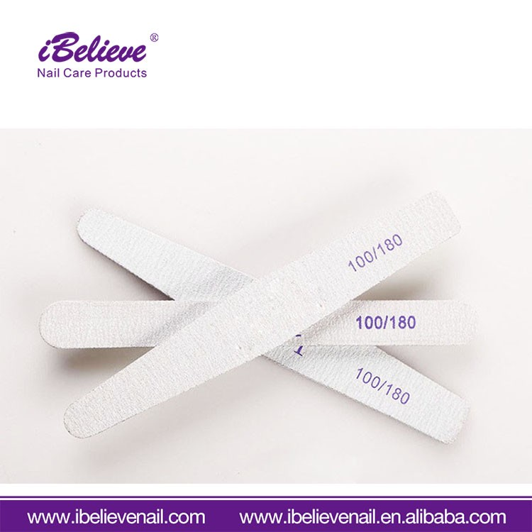 OEM Available Good Quality Manicure Tool Premium 100/180 Nail File Form Nail Manufacture