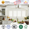 Fashion and Elegant in Fashion Hot Quality Stained Bathroom Plantation shutters
