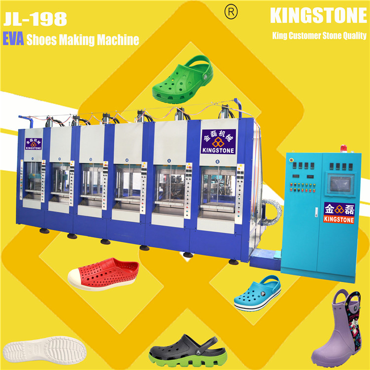 1/2 Station Plastic Shoes Injection Moulding Machine with Auto Mould-opening System