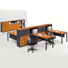Modular office table models layout, office partition