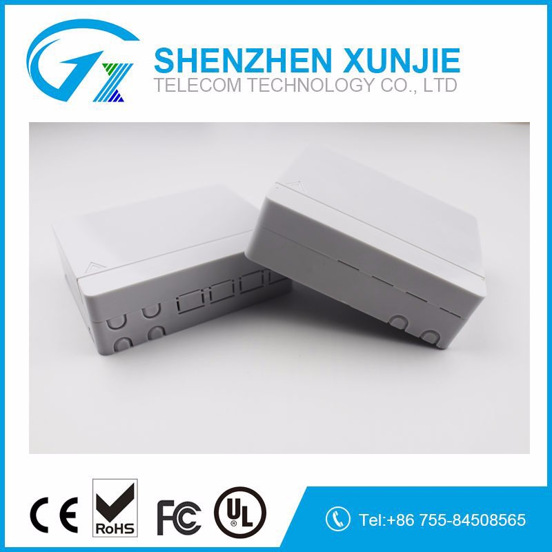 4 Core FTTH Fiber Optic indoor Fiber Optical terminal box Mini ODF Box