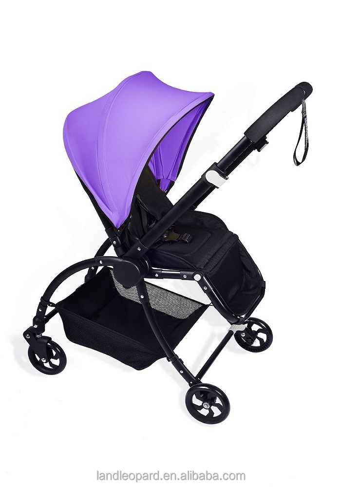 New kids stroller manufacturer producing high end 3 in 1 buggy with new design pushchair w/ big wheels swivel wheels