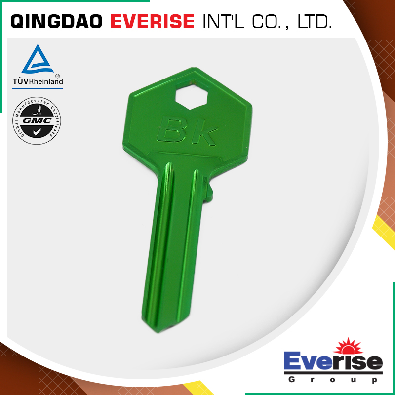 Hot Sale Custom Design High Quality Brass Color Blank Key