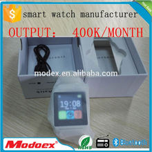 Smart watch,blue tooth connect with mobile phone smart wrist watch Multilingual U8