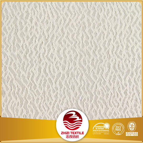 Yarn dyed 100% polyester jacquard fabric curtain market
