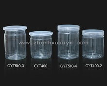 Clear Plastic Jar Bottle for capsules