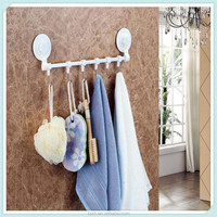bathroom towel rack shelf with suction cup