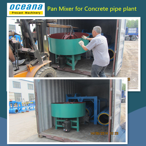 Concrete Pipe Plant : Precast concrete culvert pipe machine exported to fiji