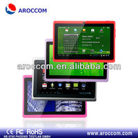 "Cheapest!!support FLASH 11.1 2200MAH 7"" Single Core tablet pc android 2.2 free game"