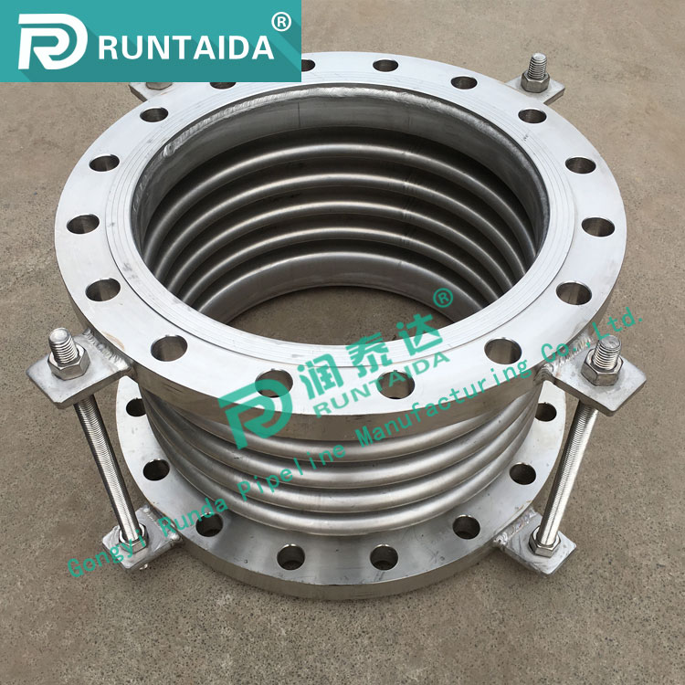 Factory supply flange connection stainless steel metal joint