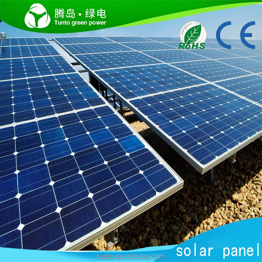 China Best price per watt solar panels 100W 200W 300W 500W 12V 24V 48V