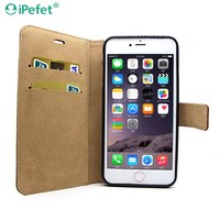 Hot Kickstand Wallet Flip Card Slot Leather Back Cover Case For iPhone 6 Plus