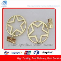 CD7568 Gold Metal Label Metal Logo