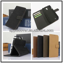 pu leather book case for samsung galaxy s4 i9500
