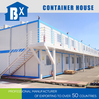 Waterproof Easy to Assemble Foldable Prefabricated Containers
